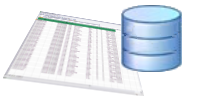 Picture of Spreadsheet and Database